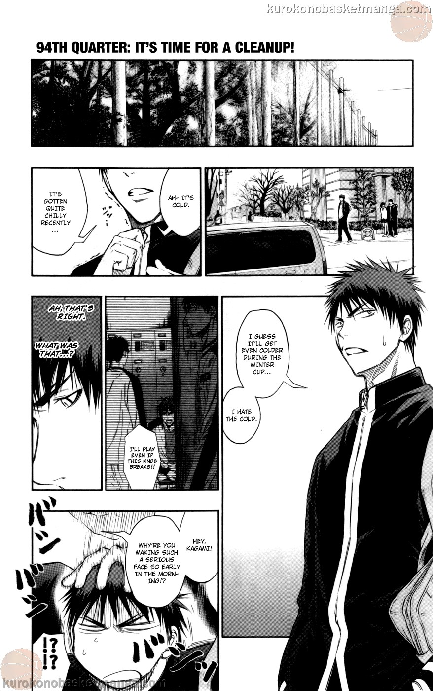 Kuroko no Basket Manga Chapter 94 - Image 01