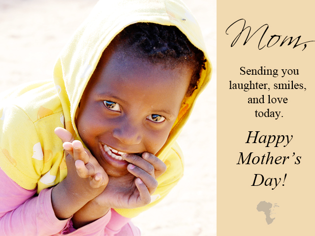 send a mother's day ecard and help orphans at the same time