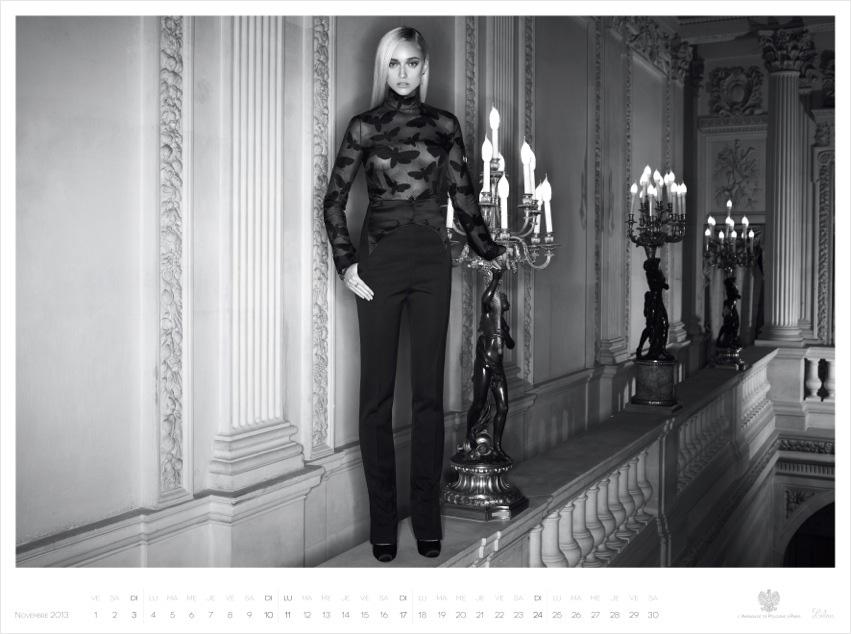 *Piotr Stoklosa 鍾情洛可可:拍攝系列 2013 Polish Embassy in Paris年曆! 4