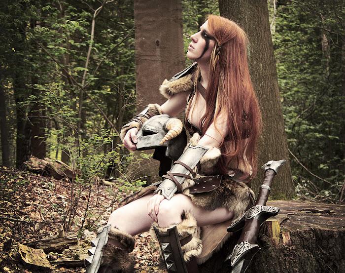 Laura Jansen và bộ ảnh cosplay Skyrim cực chất - Ảnh 5