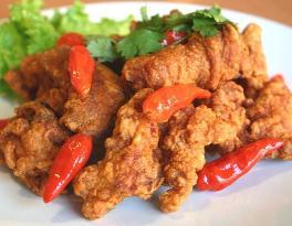 Resep Masakan - Cara Membuat Ayam Goreng Terasi