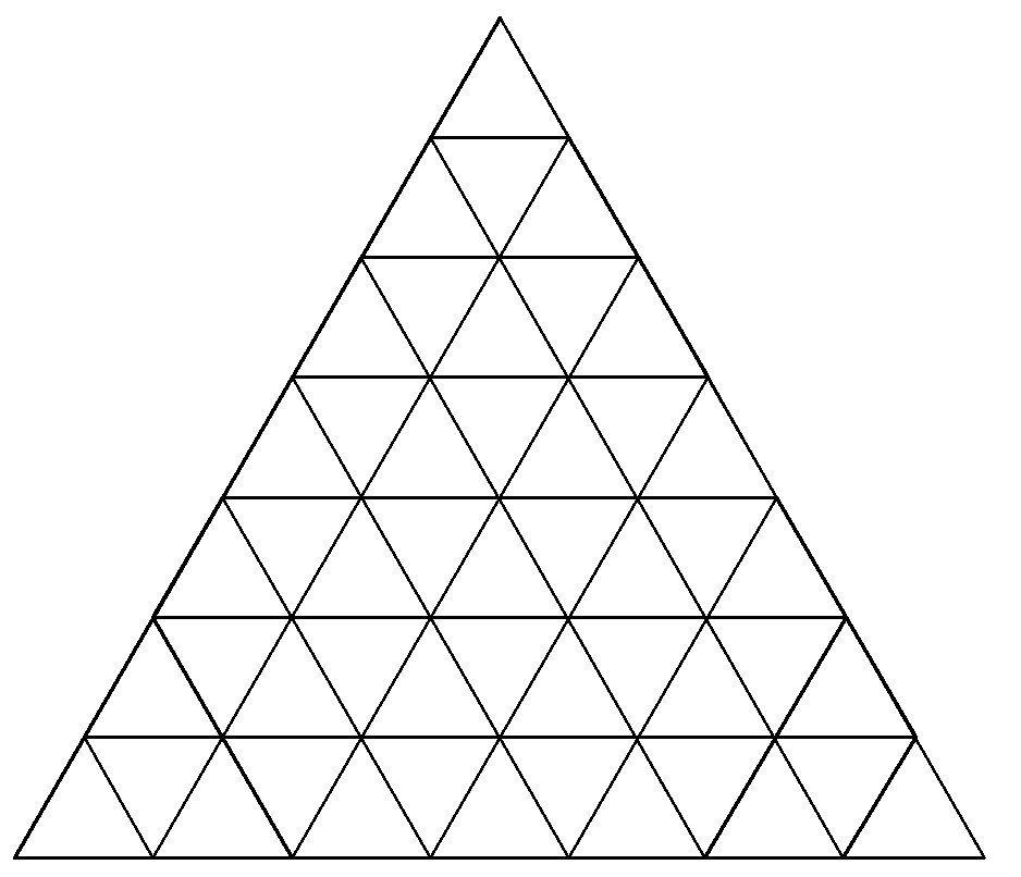 Tháp tam giác - Đếm tam giác
