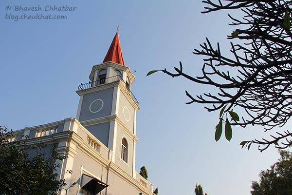Beautiful St. Mary's Church, Pune