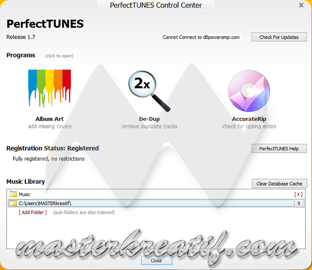 PerfectTUNES 1.7