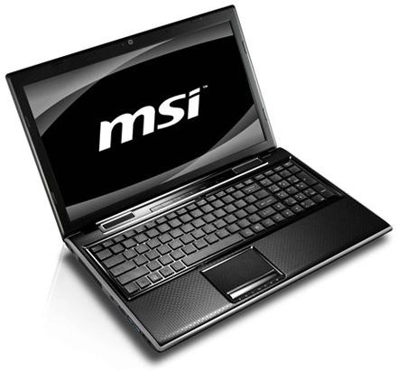 MSI FX620DX Notebook Elegant & Powerful  with Intel's Sandy Bridge & 3D GeForce GT540M