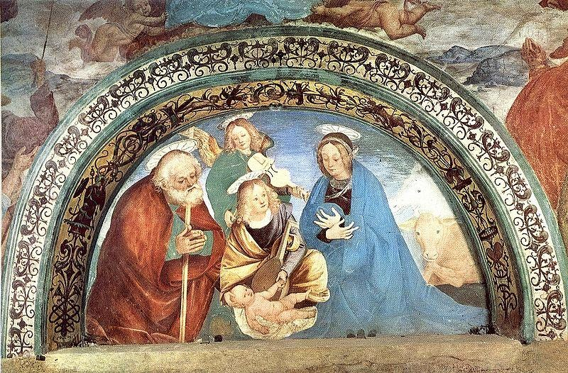 Gaudenzio Ferrari - Nativity, fresco