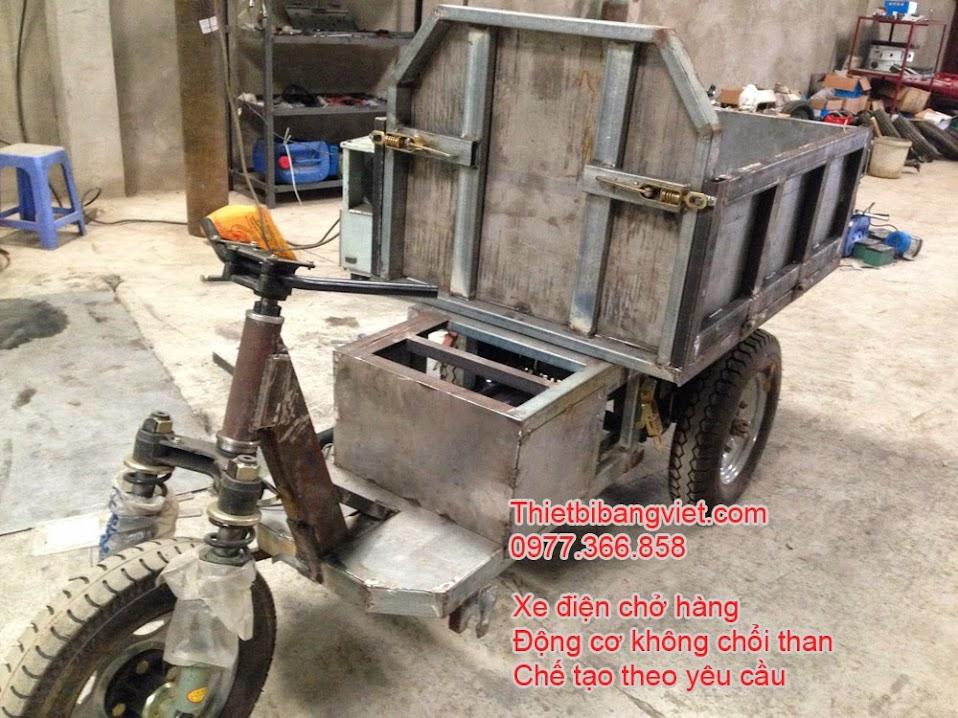 Xe điện chở hàng chở gạch động cơ BLDC không chổi than