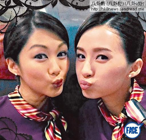 同香香公主做空姐,現忙於拍攝《衝上雲霄 2》嘅沈卓盈,劇中只做閒空姐,連角色名都冇,所以大把時間拍拖。