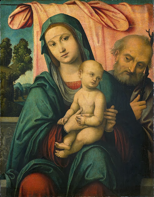 Lorenzo Costa - The Holy Family