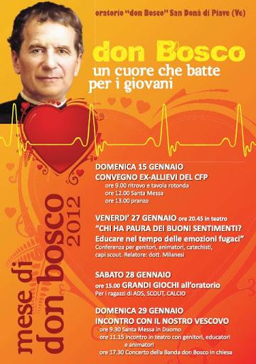 Festa di don Bosco 2012