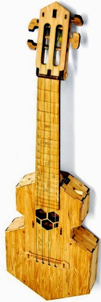 Fold-a-lele the folding Ukulele