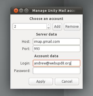 Unitymail Login