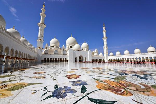 Mezquita Sheikh Zayed - Abu Dhabi, Emiratos Árabe Unidos