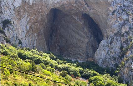Sizilien - Die Grotte von Addaura (Grotta dell'Addaura) bei Mondello