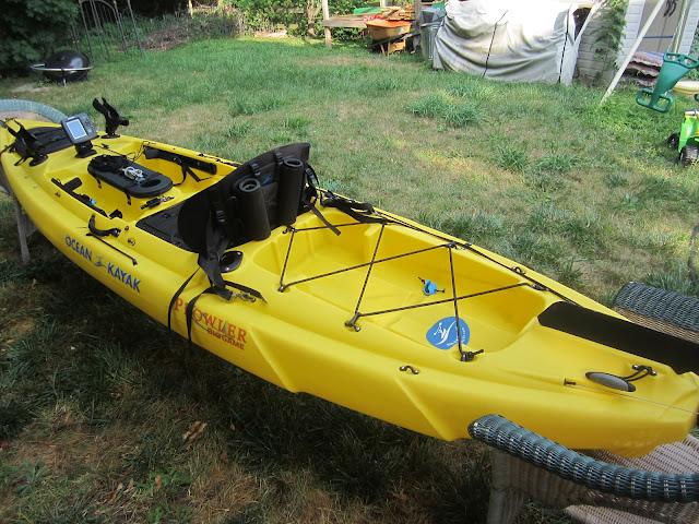 Fs Ocean Kayak Big Game Prowler W Motor