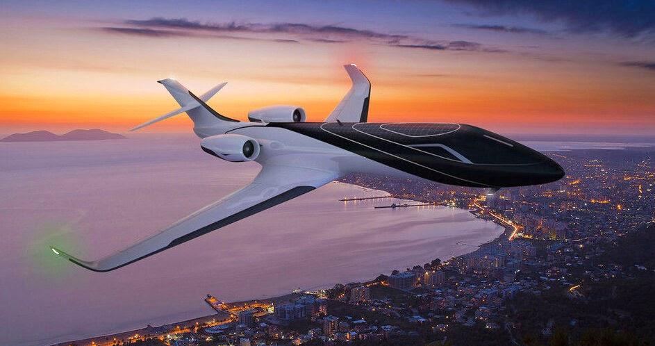 wu153 IXION - Chiếc máy bay của tương lai