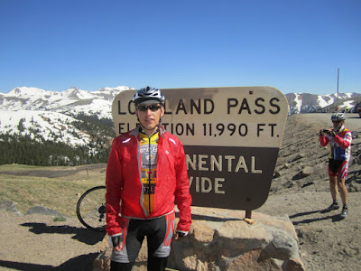 Loveland Pass - Bicycle Tour of Colorado