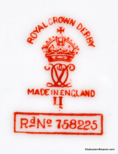 Royal Crown Derby 1939 Backstamp