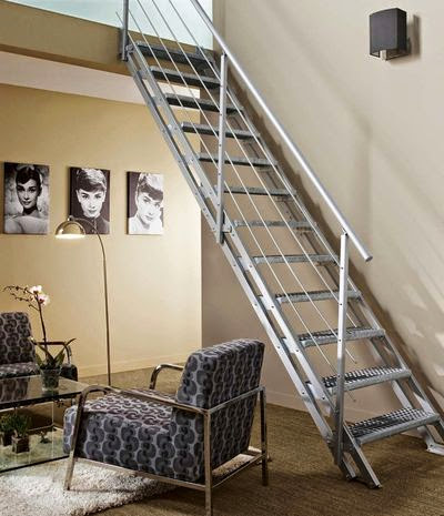 La galvanisation au c ur de nos constructions m talliques for Escalier interieur leroy merlin