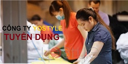 Cty YoStyle tuyển dụng 50 công nhân may công nghiệp