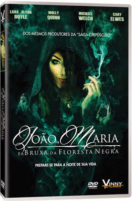 Filme Poster João e Maria e a Bruxa da Floresta Negra DVDRip XviD & RMVB Dublado
