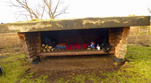 My hut at Wicken
