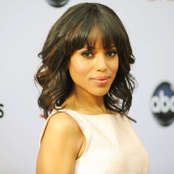 Kerry Washington: Successful, politically driven, and gorgeous actress Kerry Washington had played opposite leading men Leonardo Dicaprio and Jamie Foxx. She made a perfect fit for Quentin Tarantino's Django Unchained. She's all set to appear in the upcoming summer comedy We the PeeplesM.
