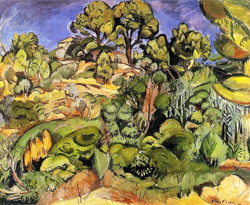 Othon Friesz - Trees in Cassis