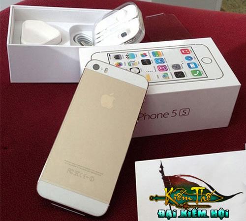 Kiếm Thế tặng iPhone 5S làm quà chia tay 2013 2