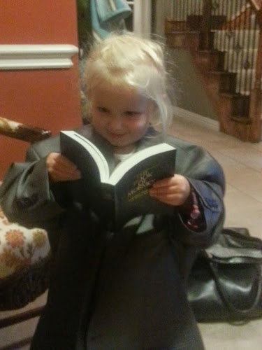 Kinslee the future missionary
