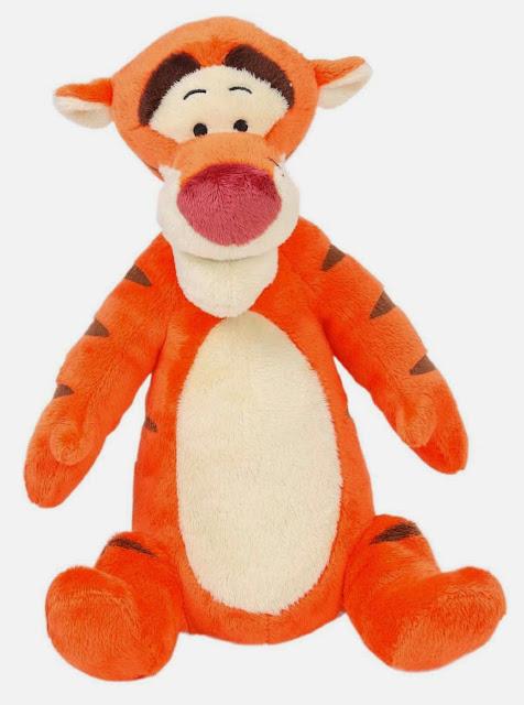 Đồ chơi Tomy Gấu bông Tigger phát tiếng với màu sắc đặc trưng của nhân vật hoạt hình Tigger