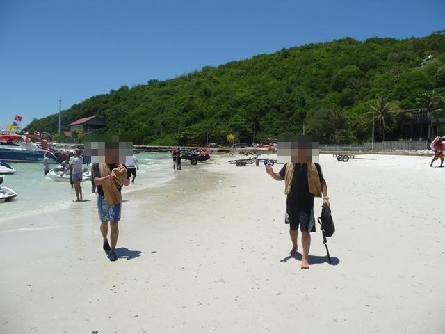 ターウェンビーチ - ビーチの様子(1)