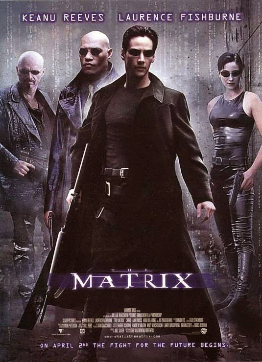 Poster Of The Matrix (1999) Full Movie Hindi Dubbed Free Download Watch Online At alldownloads4u.com