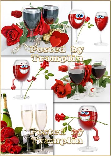 Розы и шампанское - Roses and champaign