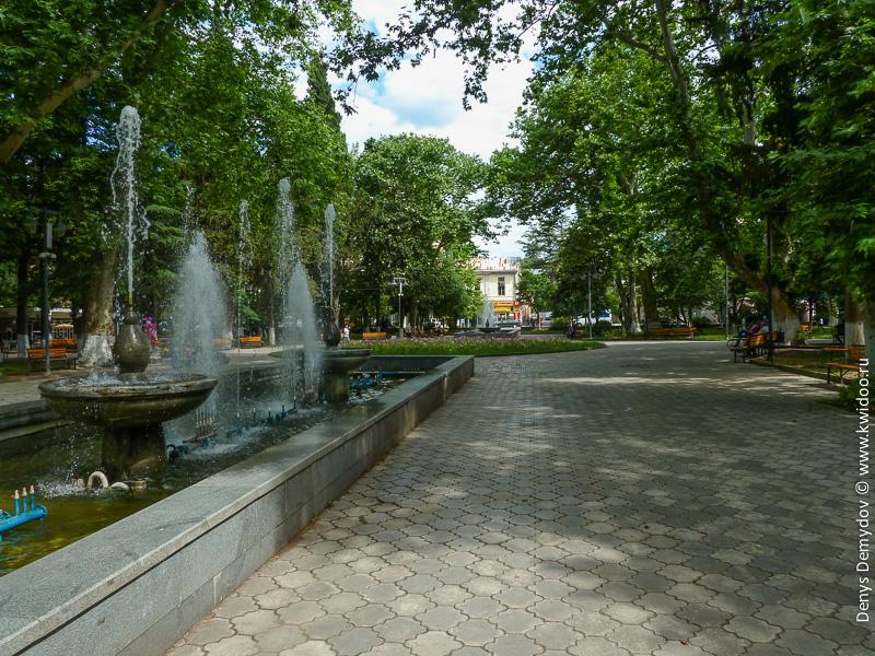 Центральный парк Кутаиси
