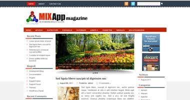 Free Wordpress Theme - Mixapp