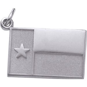 Texas State Flag Charm