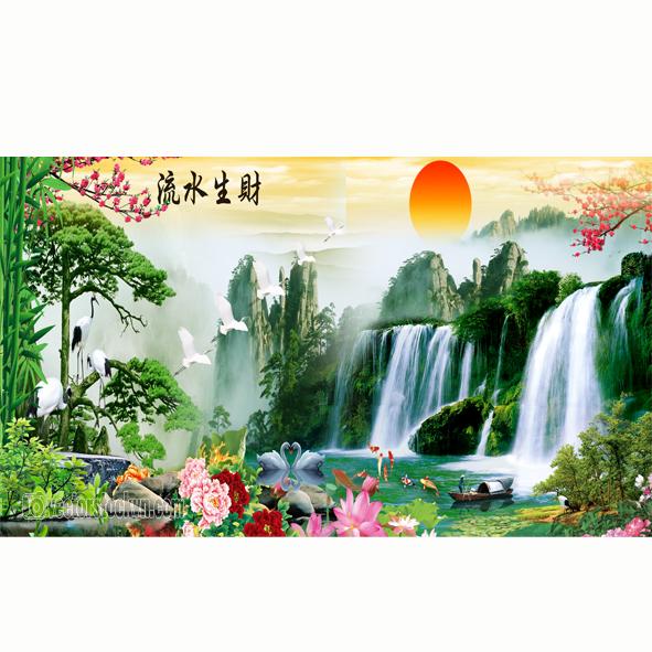 Tranh Dán Tường Phong cảnh Thiên Nhiên.