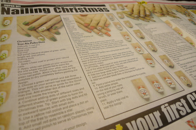 Nailing Christmas - Newspaper Feature