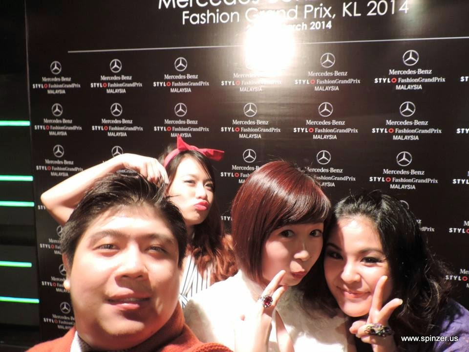 stylo Mercedes-Benz Fashion Grand Prix 2014