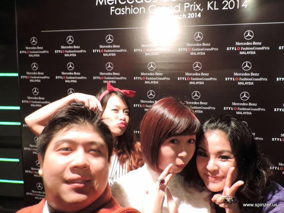 stylo Mercedes-Benz Fashion Grand Prix 2014