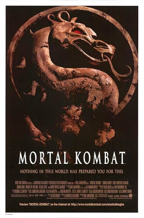 Poster Of Mortal Kombat (1995) Full Movie Hindi Dubbed Free Download Watch Online At alldownloads4u.com