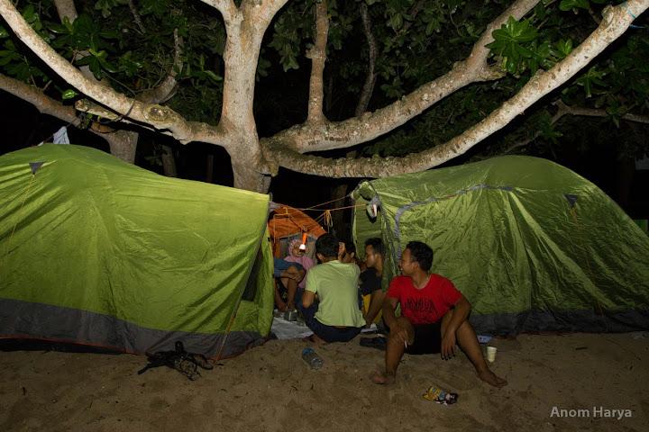 Camping, solusi terbaik hunting Milkyway