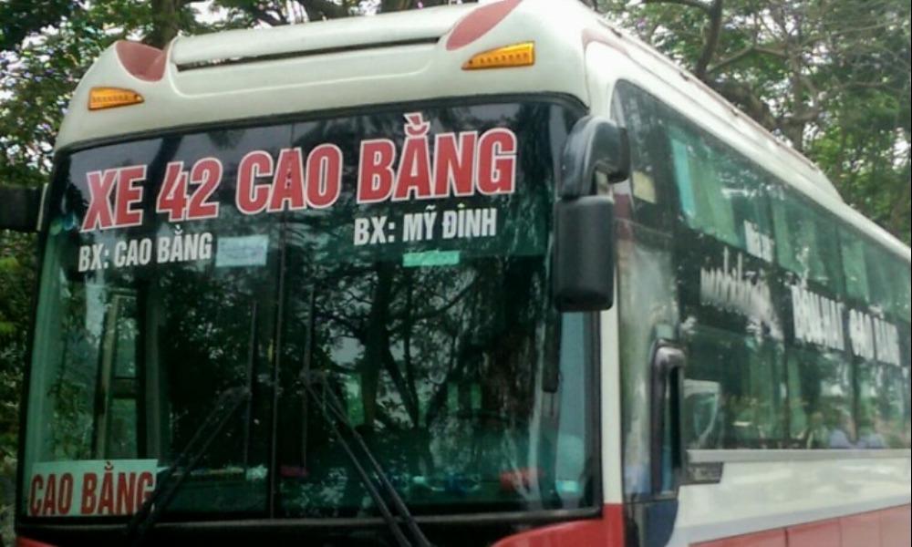 Xe Bốn Hai từ Hà Nội đi Cao Bằng