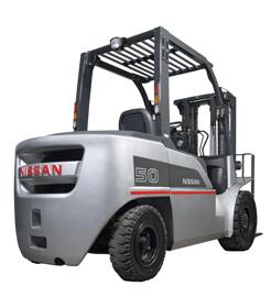 xe nang Nissan Forklift