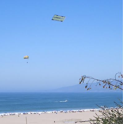 In the sky over Santa Monica, 9/2/2012