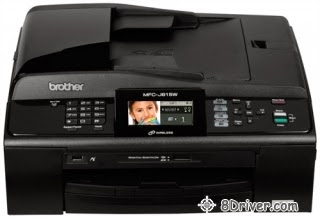 Download Brother MFC-J615W printer driver, and the right way to set up your personal Brother MFC-J615W printer software work with your current computer