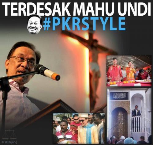 Prk Kajang Anwar Hanya Peralatkan Islam