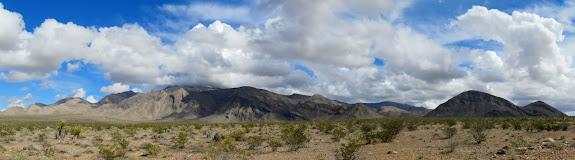 Virgin Mountains panorama