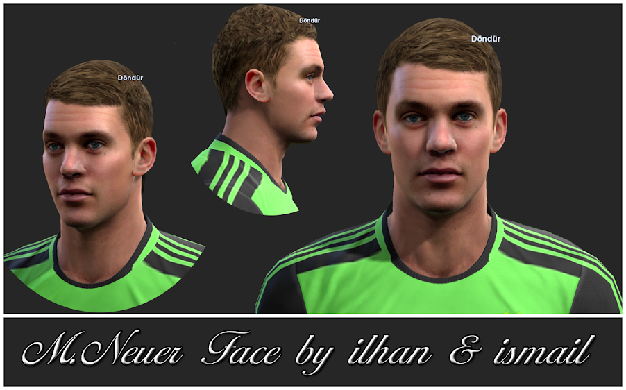 Neuer Face - PES 2013